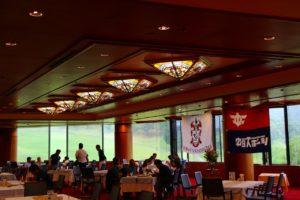 第11回愛知:ホールアウト後 レストラン